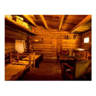 Cartão Postal Forte Clatsop - Lewis e Clark dos quartos dos