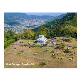 Cartão Postal Forte George Trinidad