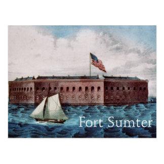 Cartão Postal Forte Sumter