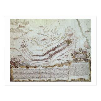 Cartão Postal Forte velho Gaut, Calcutá, 1810 (litho)