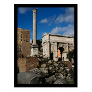 Cartão Postal Fórum romano
