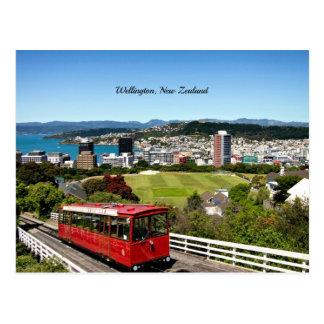 Cartão Postal Foto cénico de Wellington, Nova Zelândia