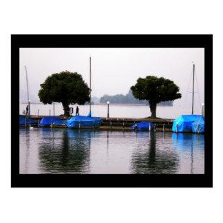 Cartão Postal Foto Colette do lago Zûrich