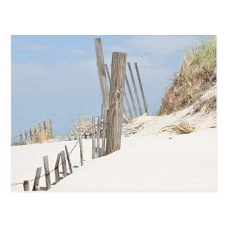 Cartão Postal Foto da duna de areia