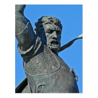Cartão Postal Foto da estátua do parque do balboa do usuário de