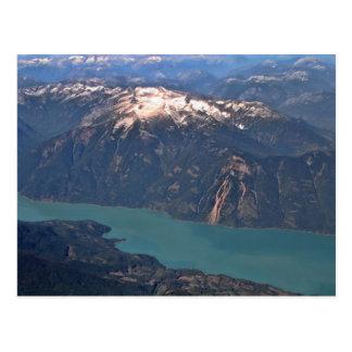 Cartão Postal Foto das montanhas rochosas