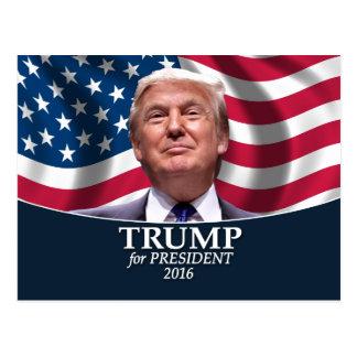 Cartão Postal Foto de Donald Trump - presidente 2016