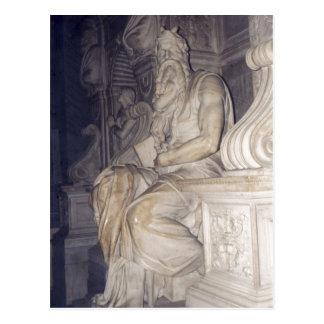 Cartão Postal Foto de Moses, uma escultura de Sumario por