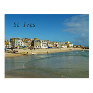 Cartão Postal Foto de St Ives Cornualha Inglaterra
