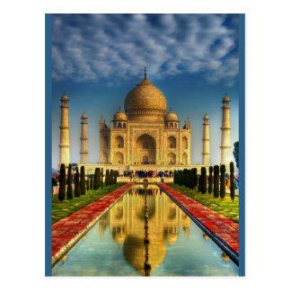 Cartão Postal Foto de Taj Mahal