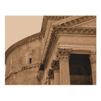Cartão Postal Foto do panteão de Roma