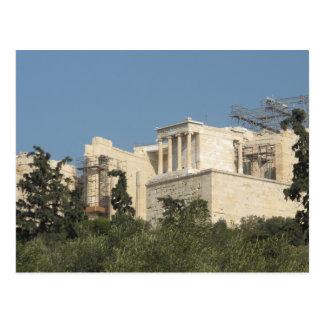 Cartão Postal Foto do Partenon do grego clássico de longe