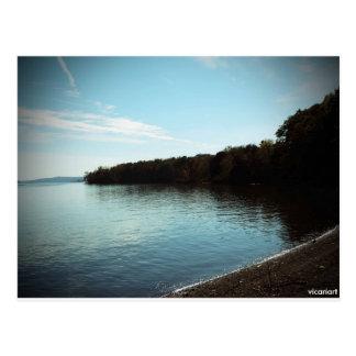 Cartão Postal Foto do Rio Hudson Kingston NY