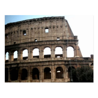 Cartão Postal Foto italiana do viagem de Colosseum