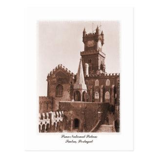 Cartão Postal Foto nacional do palácio do vintage