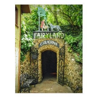 Cartão Postal Fotografia da natureza das cavernas do Fairyland