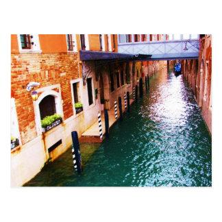 Cartão Postal Fotografia de Veneza - imagem do canal
