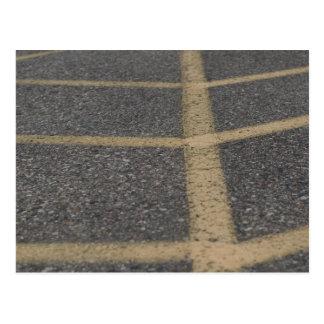 Cartão Postal Fotografia do pavimento