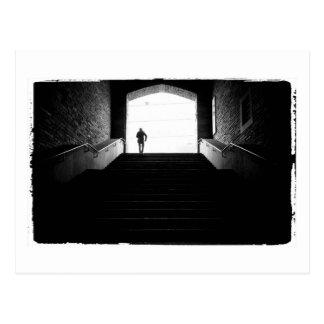 Cartão Postal fotografia preto e branco do aza