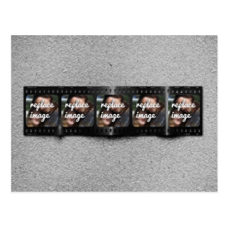 Cartão Postal Fotos personalizadas de Filmstrip