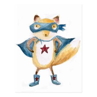 Cartão Postal Fox super!