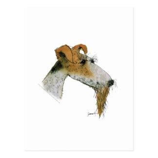 Cartão Postal Fox Terrier, fernandes tony