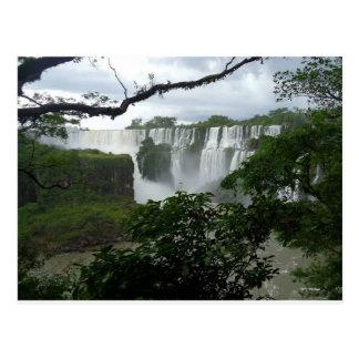 Cartão Postal Foz de Iguaçu Argentina