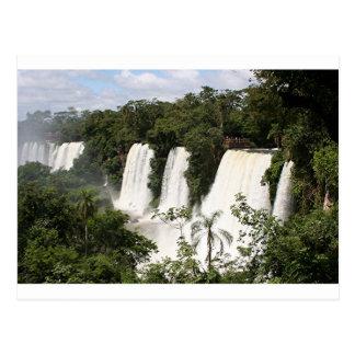 Cartão Postal Foz de Iguaçu, Argentina, Ámérica do Sul