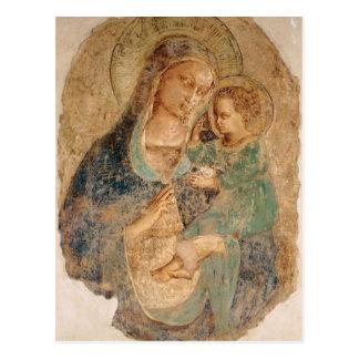 Cartão Postal Fra Angelico- Madonna e criança