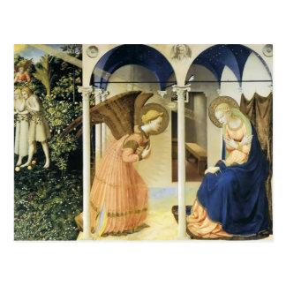 Cartão Postal Fra Angelico o aviso