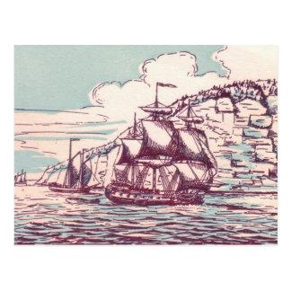 Cartão Postal Fragata britânica 1843