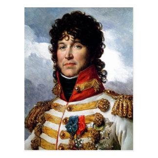 Cartão Postal Fragmento da descrição do retrato de Joachim Murat