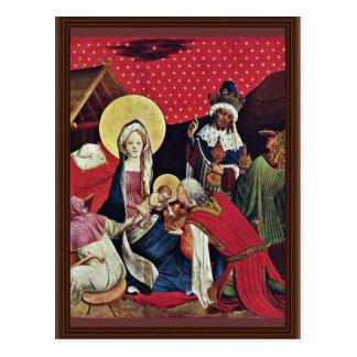 Cartão Postal Fragmento do altar de Thomas da asa exterior