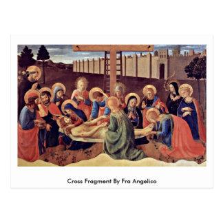 Cartão Postal Fragmento transversal por Fra Angelico