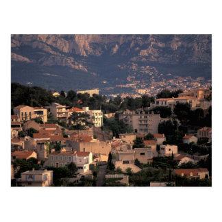 Cartão Postal France, Marselha, Provence. Subúrbios do sul