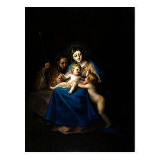 Cartão Postal Francisco de Goya Sagrada Familia 1788 -