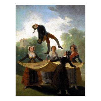 Cartão Postal Francisco Goya, Kuka o óleo do manequim 1791-92 da