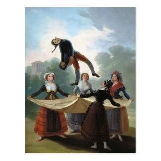 Cartão Postal Francisco Goya- o manequim da palha