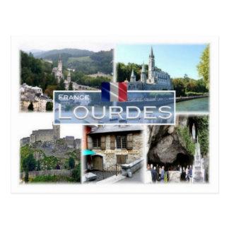 Cartão Postal Franco France - Lourdes -