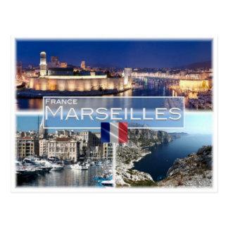Cartão Postal Franco France - Marselha -