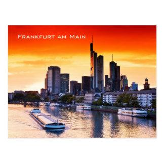 Cartão Postal Francoforte 001D