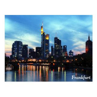 Cartão Postal Francoforte, Alemanha