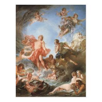 Cartão Postal Francois Boucher - a ascensão do Sun