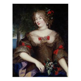 Cartão Postal Francoise de Sevigne Condessa de Grignan
