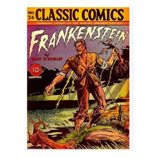Cartão Postal frankenstein
