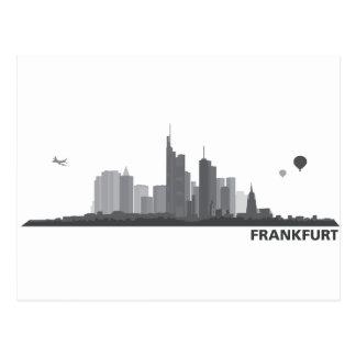 Cartão Postal Frankfurter Geschenkideen