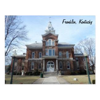 Cartão Postal Franklin, Kentucky