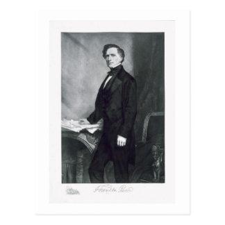 Cartão Postal Franklin Pierce, 14o presidente do Stat unido