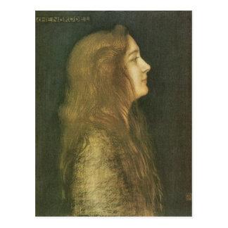 Cartão Postal Franz von Colagem - Cinderella
