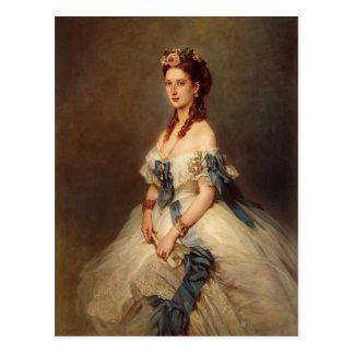 Cartão Postal Franz Winterhalter- Alexandra, princesa de Wales